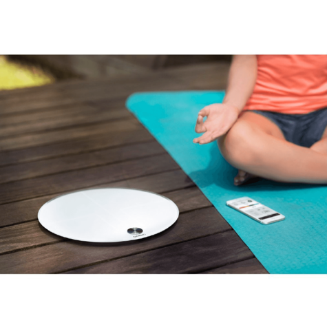 Qardio Base Smart Digital Scale | Full Body Composition | Fitness-BMI-Weight Analyzer Thumbnail 4