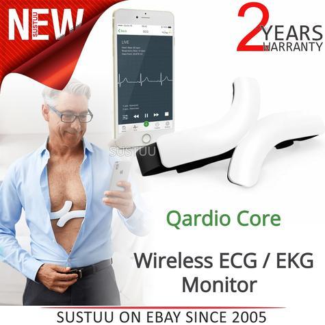 QardioCore Wireless ECG / EKG Mobile Monitor | Accurate Electrocardiograph Trace | NEW Thumbnail 1