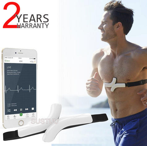 QardioCore Wireless ECG/EKG Mobile Monitor | Accurate Electrocardiograph Trace | NEW Thumbnail 1