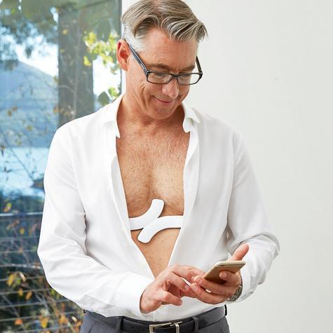 QardioCore Wireless ECG / EKG Mobile Monitor | Accurate Electrocardiograph Trace | NEW Thumbnail 5