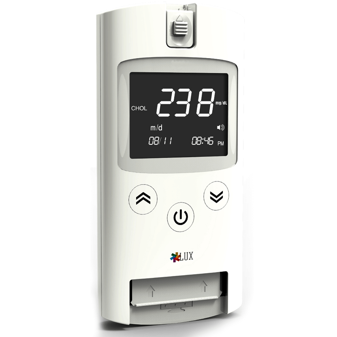 LUX Multiparameter POCT Device   For Triglycerides-Cholesterol-HDL-LDL-Haemoglobin