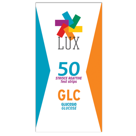 LUX Lipid Glucose Test Strips (Box of 50 Strips) | Plasma Calibration Method | LGE50 Thumbnail 1