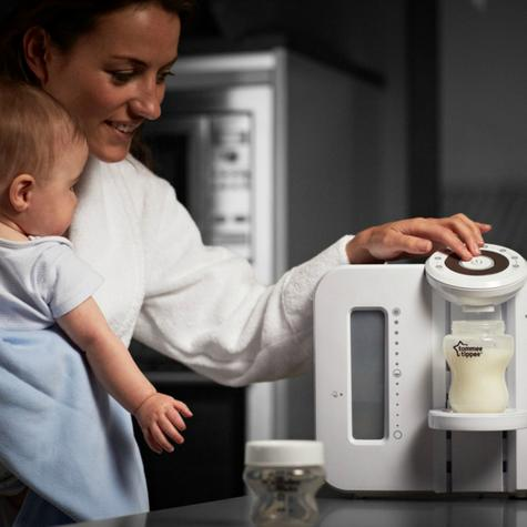 Tommee Tippee Closer To Nature Perfect Prep Machine White?Easy Made Baby Bottle Thumbnail 4