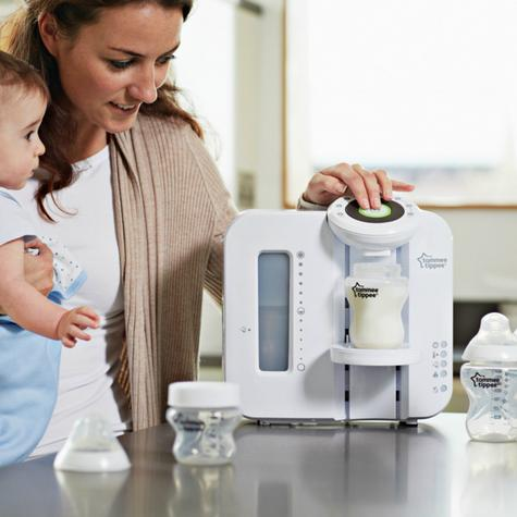 Tommee Tippee Closer To Nature Perfect Prep Machine White?Easy Made Baby Bottle Thumbnail 5