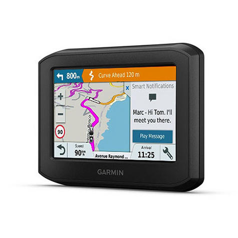 Garmin Zumo 396LMT-S Motorcycle GPS SatNav | Full Europe Lifetime Map Update | Wi-Fi Thumbnail 3