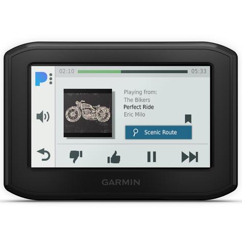 Garmin Zumo 396LMT-S Motorcycle GPS SatNav | Full Europe Lifetime Map Update | Wi-Fi Thumbnail 4