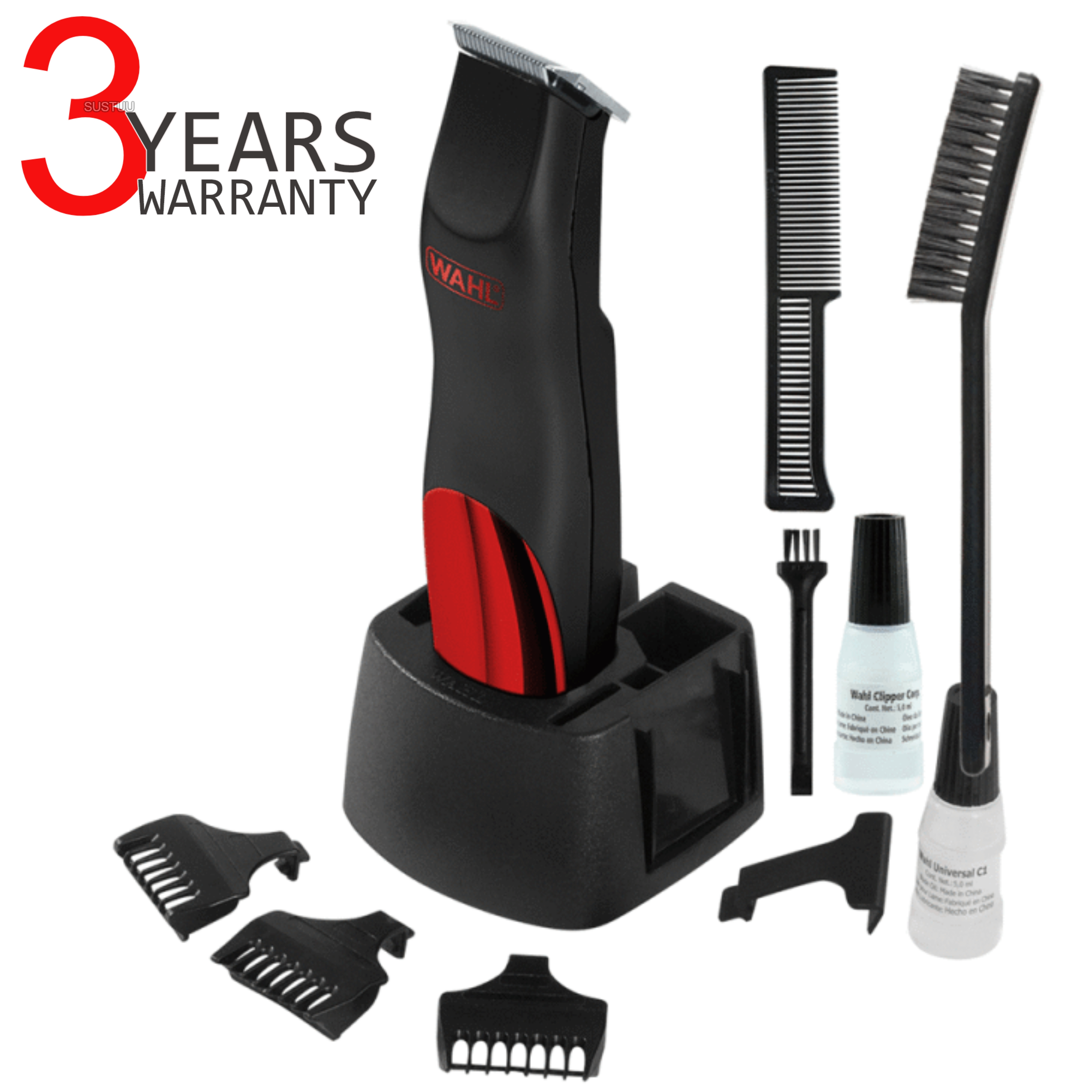 Wahl 9906-4017 Bump Prevent Men's Battery Trimmer Kit | Body & Facial Hair Shaver |