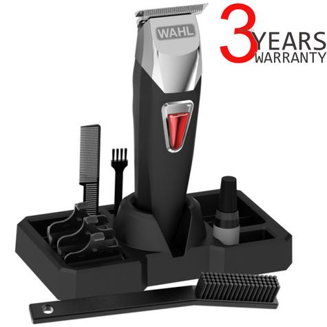 Wahl 9860-806 T-Pro Mens Hair Trimmer Clipper Kit | 10 Piece | Cordless | Rechargeable Thumbnail 1