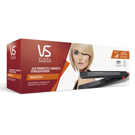 Vidal Sassoon Perfectly Smooth Hair Straightener | 25mm Ceramic Coated Plate | 30°C Thumbnail 3
