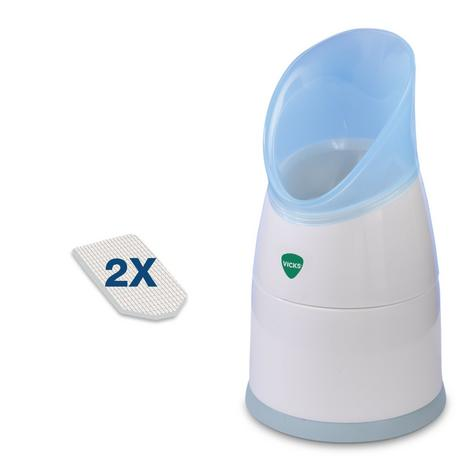 Vicks Vapo Rub Personal Steam Inhaler | 2 Scent Pads | Clear Coughs & Colds | Portable Thumbnail 2