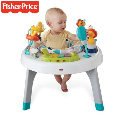 Fisher-Price 2-in-1 Sit to Stand Activity Centre | Toddler/Baby activity table | New Thumbnail 1
