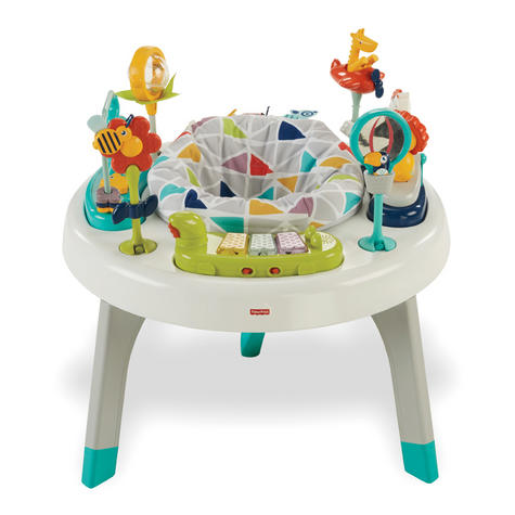 Fisher-Price 2-in-1 Sit to Stand Activity Centre | Toddler/Baby activity table | New Thumbnail 3