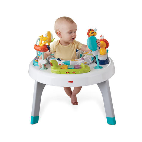Fisher-Price 2-in-1 Sit to Stand Activity Centre | Toddler/Baby activity table | New Thumbnail 4