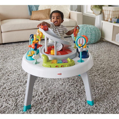 Fisher-Price 2-in-1 Sit to Stand Activity Centre | Toddler/Baby activity table | New Thumbnail 6
