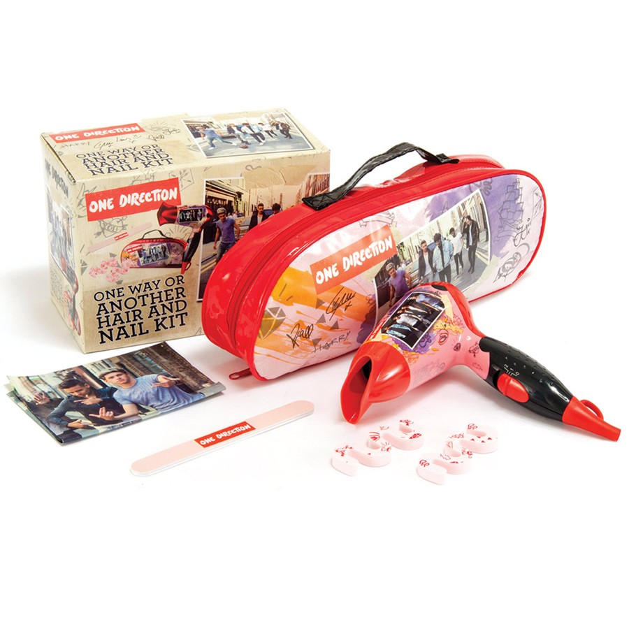 One Direction One Way or Another Hair & Nail Kit | 1200W Travel Nano Dryer + Tote