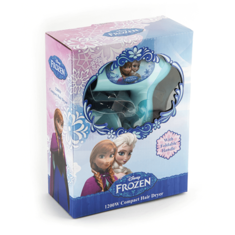 Disney Frozen Compact 1200W Hair Dryer | Concentrator Nozzle | Overheat Protection Thumbnail 4