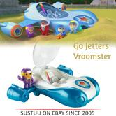 Go Jetters Toddler Vroomster with Light-up Display Baby Vehicle Toy