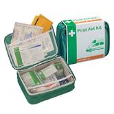 Vehicle First Aid Kit In Nylon Zip Handy Case | Personal Safety | Easy Storage | NEW