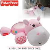 Fisher-Price Hippo Plush Projection Soother | Baby's Dreamland-Lights/Music/Sounds