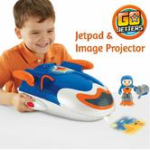 Go Jetters Jetpad|Rolling Wheels|Kids Image Projector|Music & Sound|For 3+ Years
