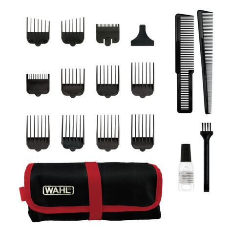 Wahl 79111-803 Fade Pro Perfect Face Hair Clipper | Ultra Close Cut | 18 Piece kit | Thumbnail 4