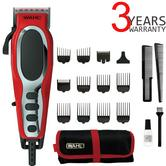 Wahl 79111-803 Fade Pro Perfect Face Hair Clipper | Ultra Close Cut | 18 Piece kit |
