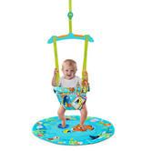 Bright Starts Disney Baby Nemo Door Jumper/Bouncer with Playtime/Tummytime Matching Mat | New