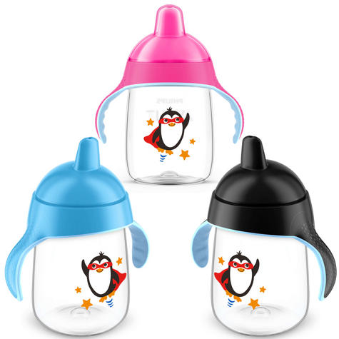 Philips Avent Premium Baby Spout Cup|Independent Drink|Hygiene Cap|BPA Free|340m Thumbnail 2