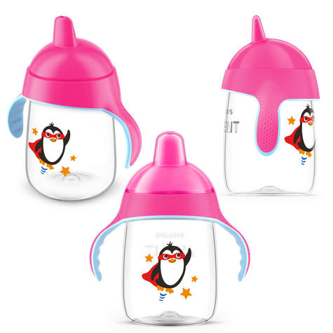 Philips Avent Premium Baby Spout Cup|Independent Drink|Hygiene Cap|BPA Free|340m Thumbnail 3