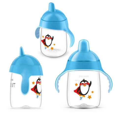 Philips Avent Premium Baby Spout Cup|Independent Drink|Hygiene Cap|BPA Free|340m Thumbnail 4