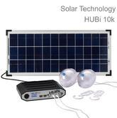 Solar Technology HUBi 10K Solar Power Lighting Kit with AC Adapter|HUBI1010AMC