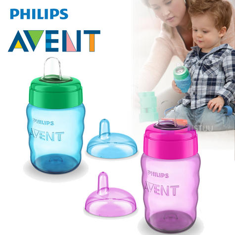 Philips Avent Easy Sip Baby Spout Cup|Hassle-Free|Dishwasher Safe|260ml| Thumbnail 1