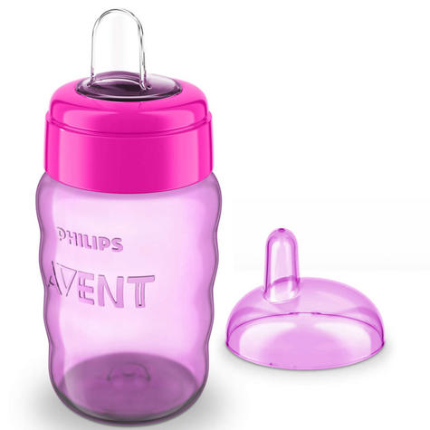 Philips Avent Easy Sip Baby Spout Cup|Hassle-Free|Dishwasher Safe|260ml| Thumbnail 4