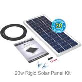 Solar Technology 20w Rigid Solar Panel Kit - STP020|Use Caravans/ Motor Homes/ Boats