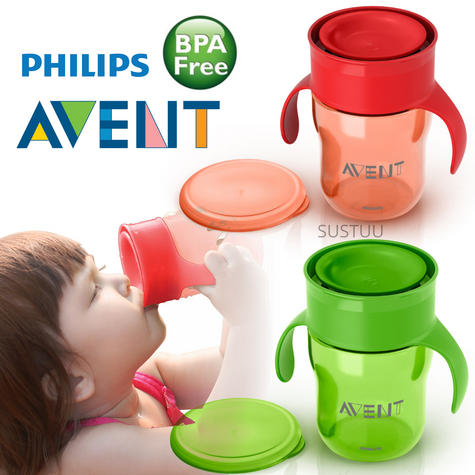 Philips Avent Baby Grown Up Cup|Lip Activated Technology|BPA Free Material|260ml Thumbnail 1