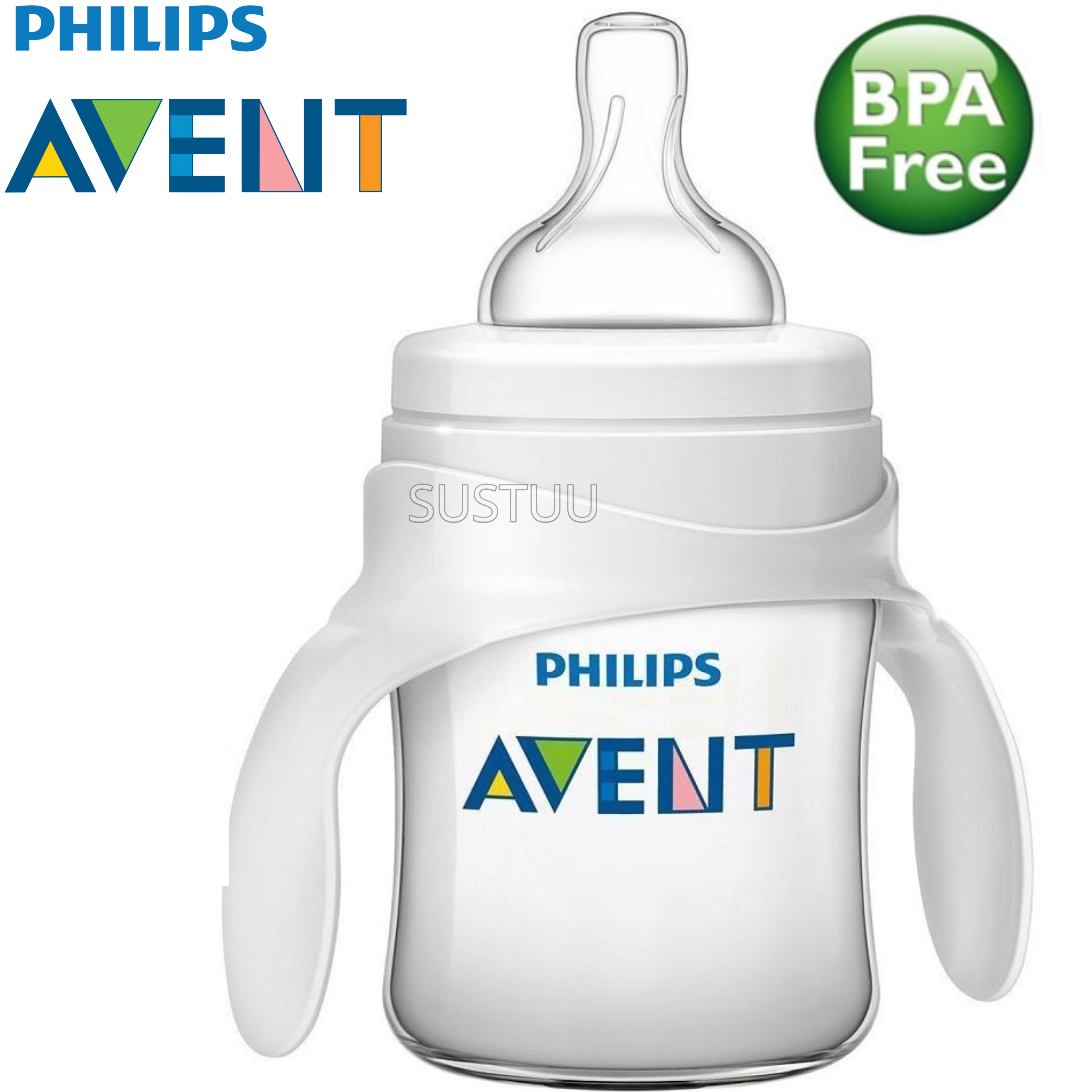 Philips Avent Classic+ Baby Bottle to Cup Trainer Kit|Drink Learner|BPA Free|4+