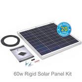 Solar Technology PV Logic 60w Rigid Solar Panel Kit - STP060|Use MotorHome/ Boats