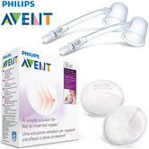 Philips Avent Niplette Twin Pack With 2xDisposable Breast Pads | Simple & Discreet