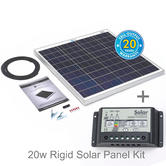 Solar Technology PV Logic 60w Rigid Solar Panel Kit + 10Ah Controller - STP060MA