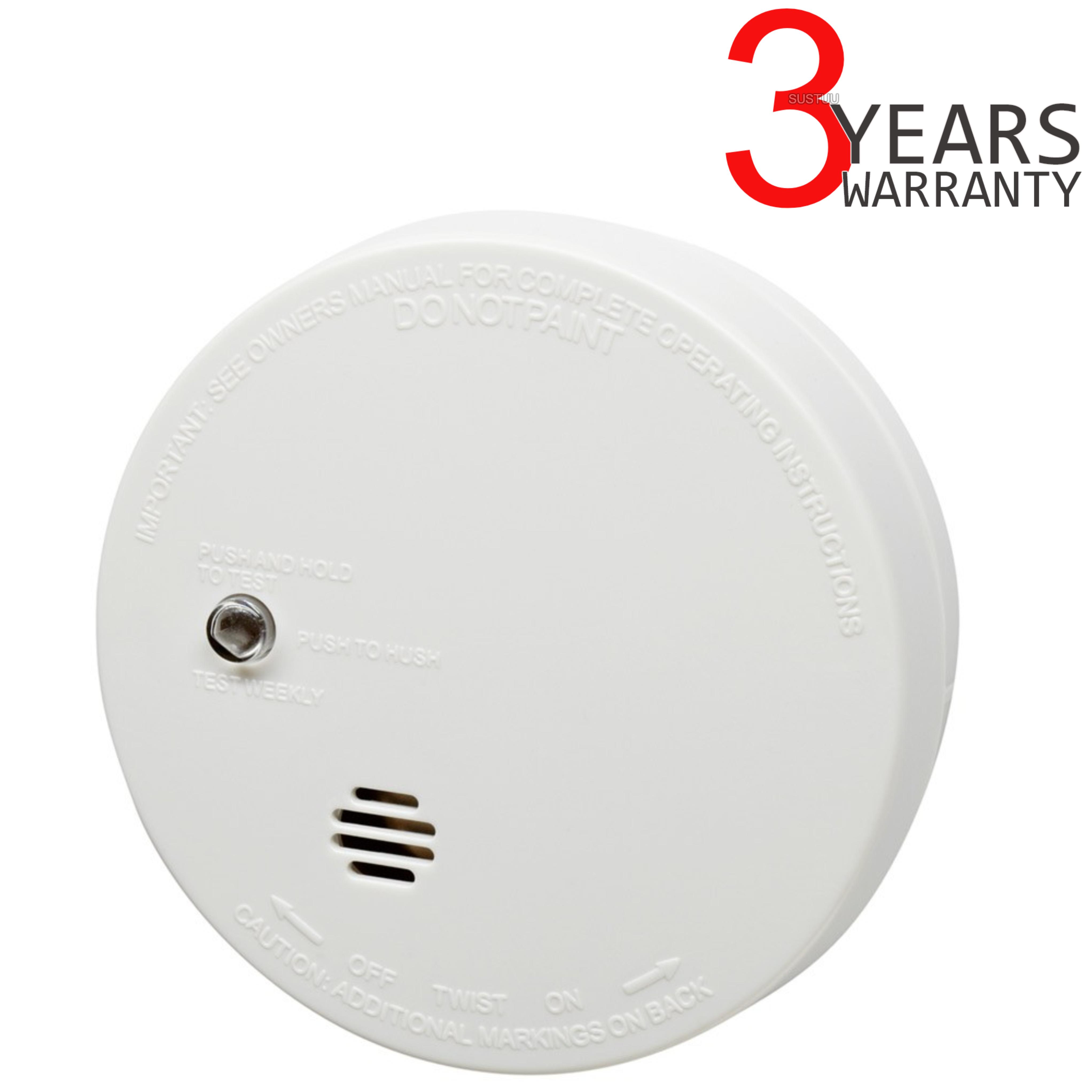 Kidde Lifesaver Compact Smoke Detector Alarm Battery Operated Burglar Powered By Ionisation Sensor