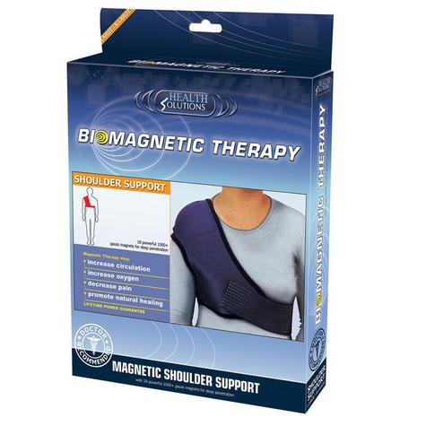 Health Solutions Biomagnetic Shoulder Support (L/XL) | Soft Durable Materials | NEW Thumbnail 1