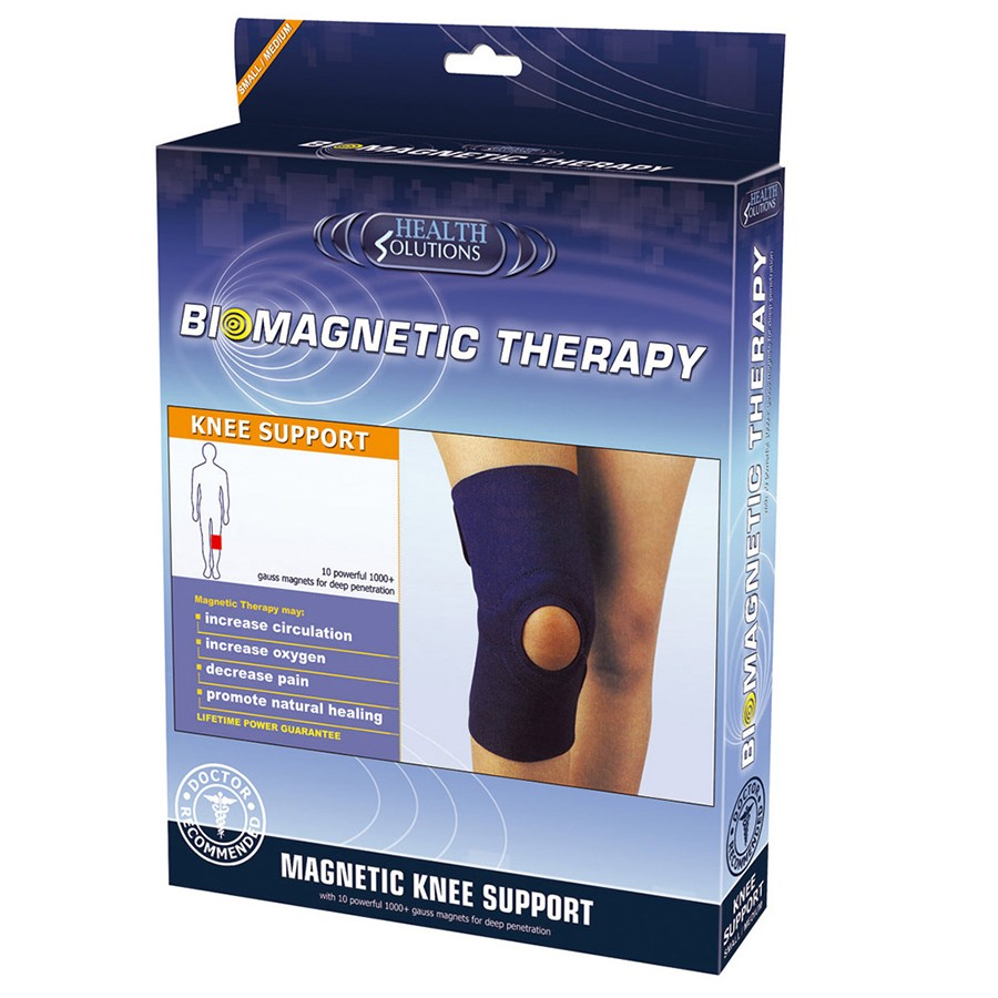 Health Solutions Biomagnetic Knee Support (Large/X-Large) | Soft Durable Materials