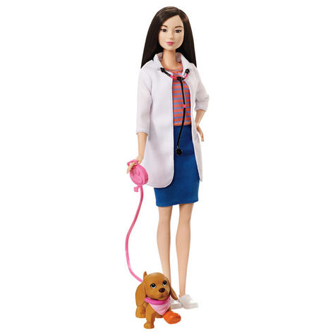 Barbie Pet Care Centre | Veterinarian Doctor Grooming Playset with 4 Pets | 15Pieces  Thumbnail 7