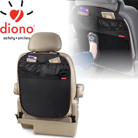 Diono Stuff 'n Scuff | Car Seat Protector With Large Storage Pockets | Washable | New Thumbnail 1