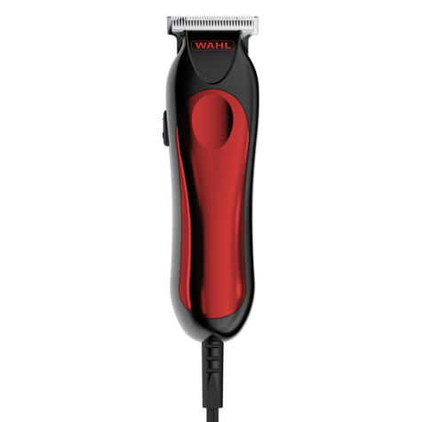 Wahl 9307-5317 T-Pro Corded Men's Hair Trimmer Clipper Kit | 9 Piece Kit | Red Thumbnail 2