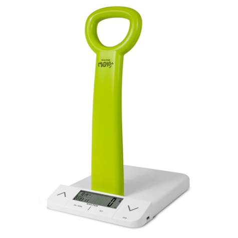 Salter MiBaby Baby Toddler Digital Bathroom Scale | Weight- Height | Body Mass Index Thumbnail 3