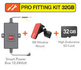 Mio Pro Fitting Kit | Smart Power Box+Window Mount+32GB Memory Card | For Mivue Unit