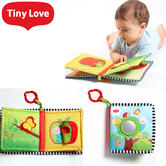 Tiny Love 'Where Do I Live' Book | 3to18 Months | Strollers,Cots & Baby Carrier Toy/Baby Book | New