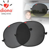 Diono Sun Stoppers Side Window Solar Mesh Shade (Pack Of 2) | Protect Your Baby
