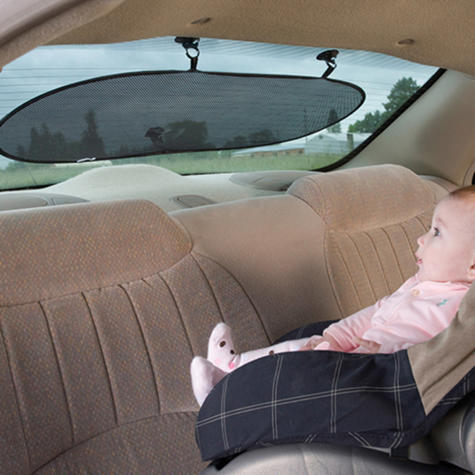 Diono Sun Stop Universal Rear Window Sun Shade For Baby | Always Holds Its Shape Thumbnail 3